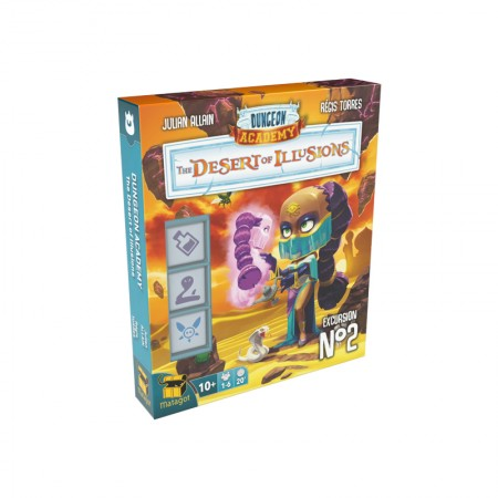 Dungeon Academy The Desert of Illusions - Box