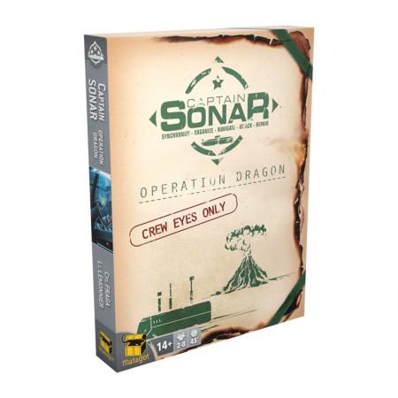 CAPTAIN SONAR: Opération Dragon - Upgrade 2 - EN