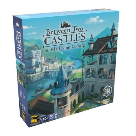 BETWEEN TWO CASTLE OF MAD KING LUDWIG - Box