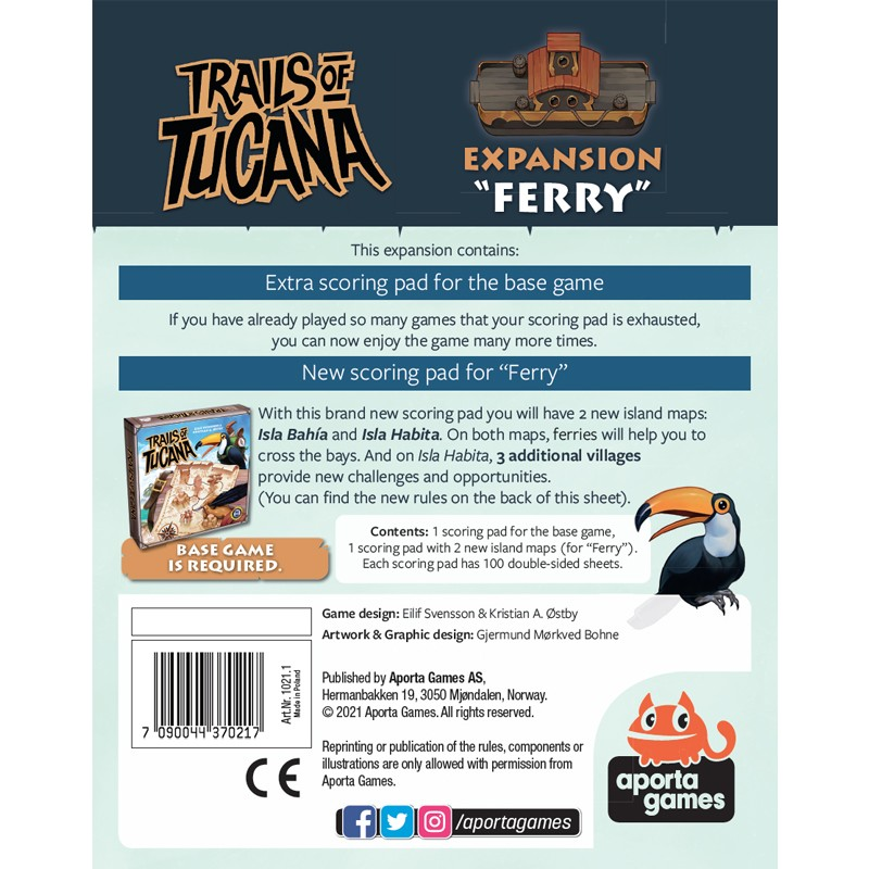 Trails of Tucana : Ferry - Box