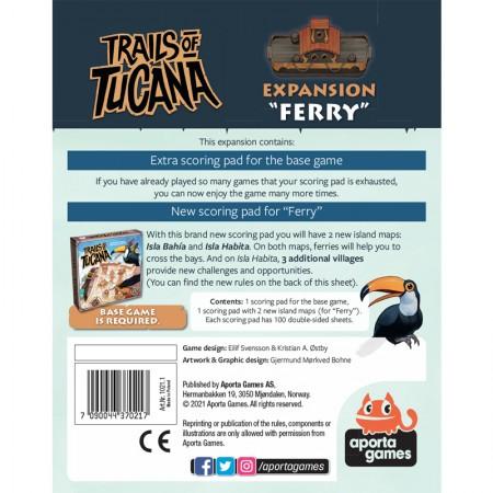 Trails of Tucana: Ferry - Box
