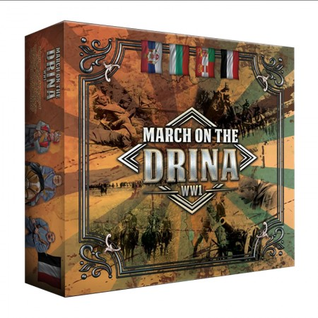 March on the Drina - Box